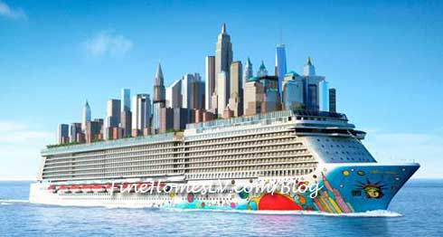 Norwegian Breakaway NYC Skyline