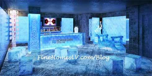 Ice Bar on Norwegian Breakaway
