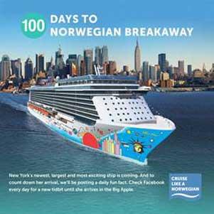 100 Days To Norwegian Breakaway