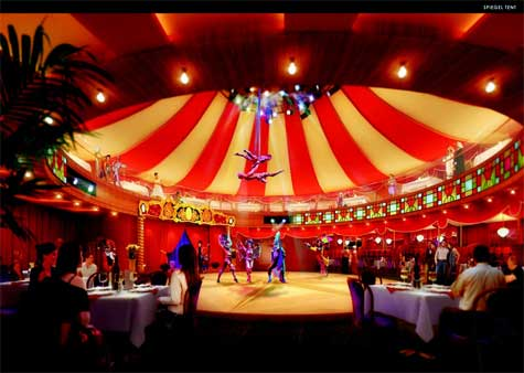 Norwegian Epic Cirque Dreams and Dinner