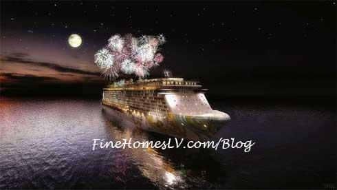 Norwegian Getaway Fireworks