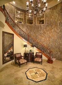 Tuscan Cliffs Homes Entry