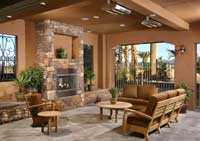 Tuscan Kitchen Design on Tuscan Cliffs Las Vegas Luxury Homes Offer Outdoor Summer Kitchens