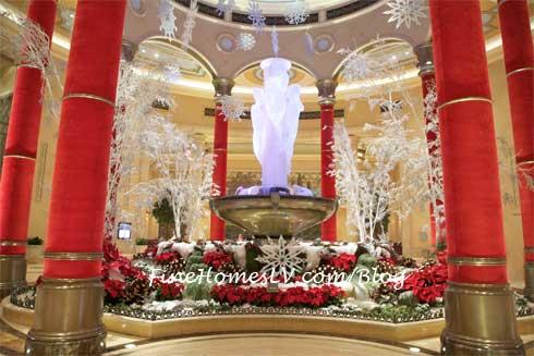 Holiday Atrium at The Palazzo