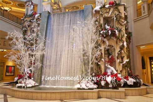 Waterfall at The Palazzo