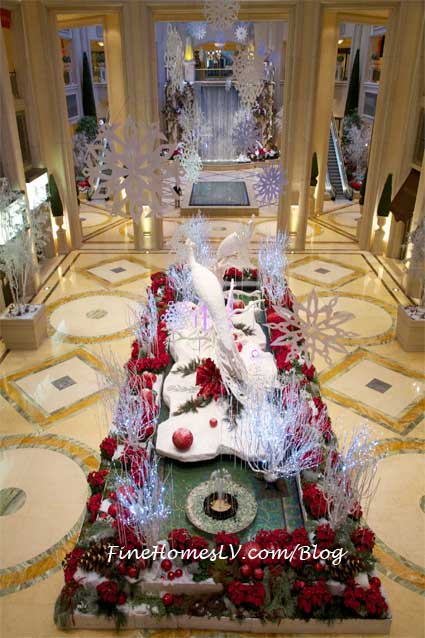 Winter Display at The Palazzo