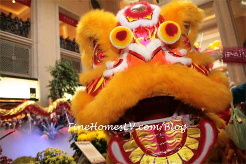Lion Dance at The Palazzo