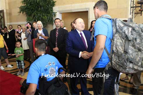 Sheldon Adelson and Wounded Veterans