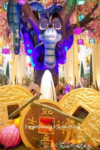 Snake At Chinese New Year