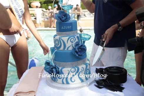 AZURE Grand Opening Cake