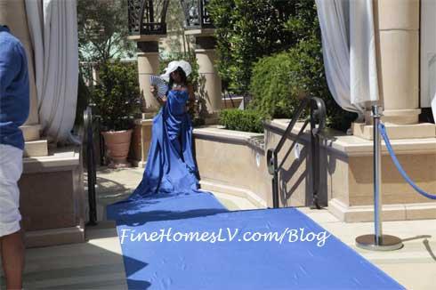 AZURE Live Blue Carpet