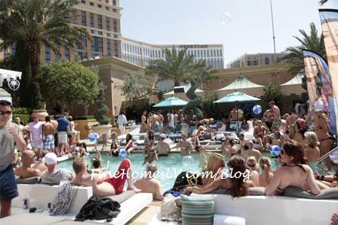 AZURE Pool Crowd