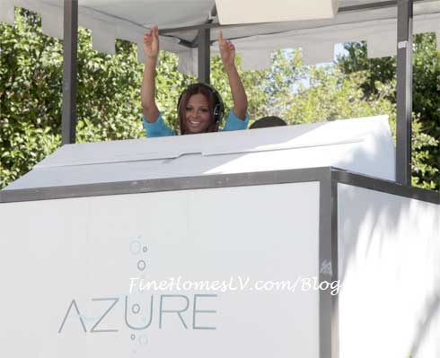 Christina Milian at AZURE Pool