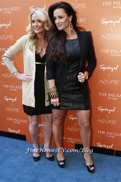 Kim and Kyle Richards at AZURE