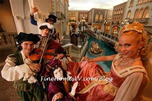 Carnevale at The Palazzo
