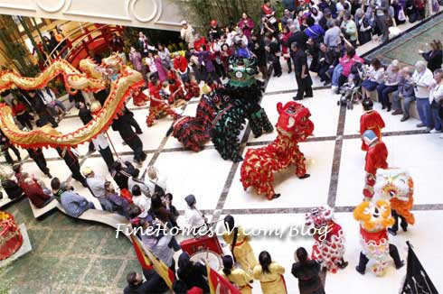 Dragon Dance At The Palazzo