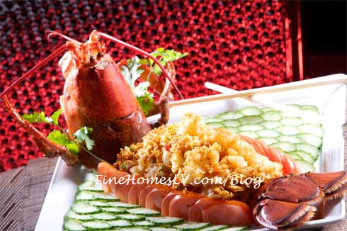 Lobster Meal For Chinese New Year