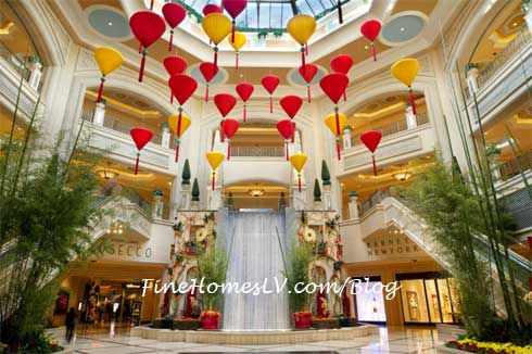 The Palazzo Atrium For Chinese New Year