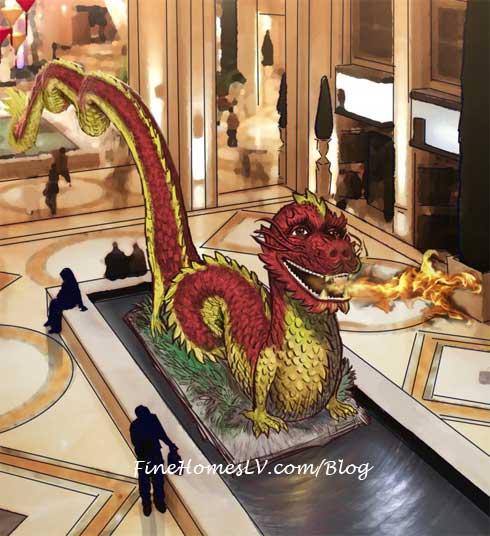 The Venetian The Palazzo Dragon