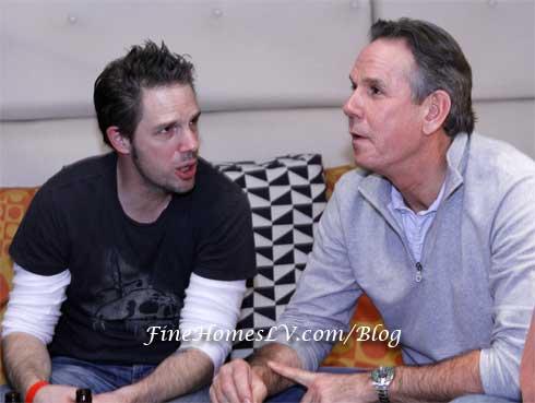 Mark Hopper and Thomas Keller