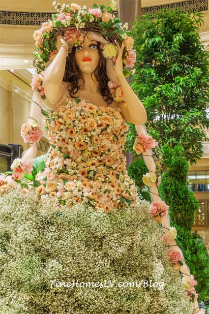Pink Topiary Dress