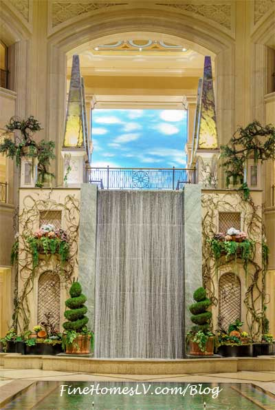 Waterfall Atrium At The Palazzo