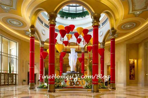 The Palazzo Red Lanterns
