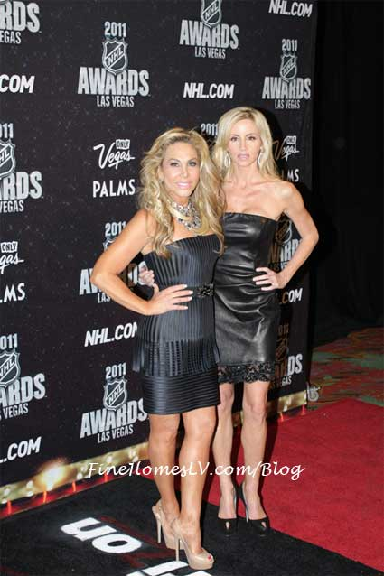 Adrienne Maloof and Camille Grammer