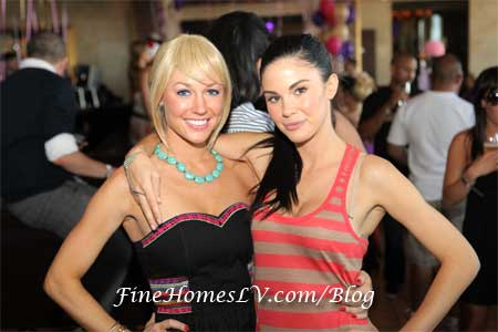 Kelly Carrington and Jayde Nicole
