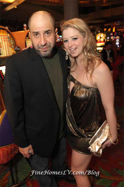 Dave Attell and Friend