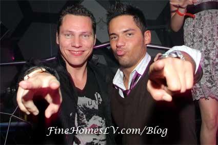 DJ Tiesto and DJ JRoc