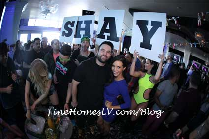 Mike Shay and Scheana Shay at GBDC