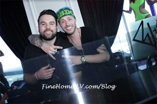 Mike Shay and DJ bVillain