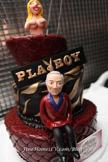 Hugh Hefner Birthday Cake