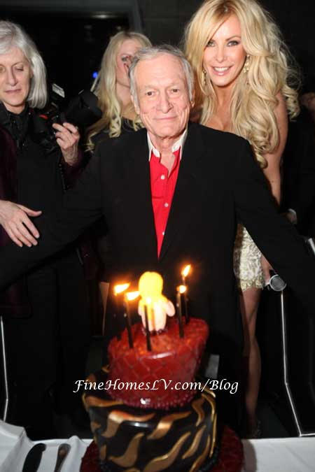 Playboy Hugh Hefner and Crystal Harris