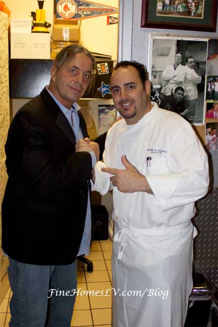 Bret Hart and Chef Barry