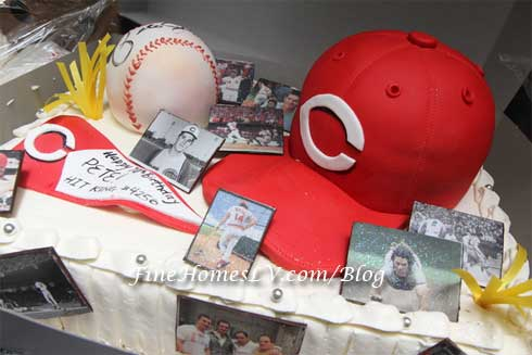 Pete Rose Birthday Cake