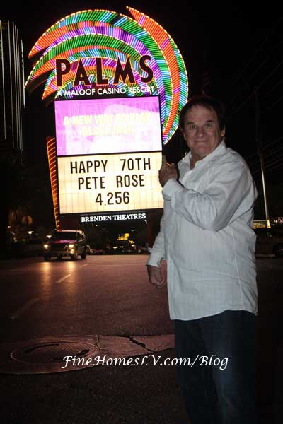 Pete Rose At Palms