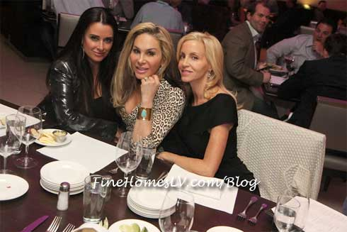 Kyle Richards, Adrienne Maloof and Camille Grammer