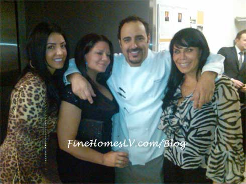 VH1 Mob Wives and Chef Dakake