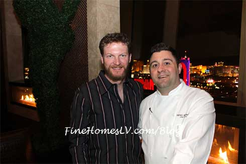 Dale Earnhardt Jr. and Chef Geno Berardino