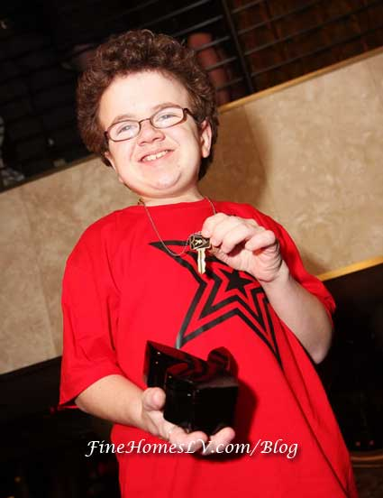 Keenan Cahill With Playboy Key