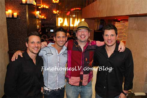 Drew Lachey, Jeff Timmons, Justin Jeffre and Nick Lachey