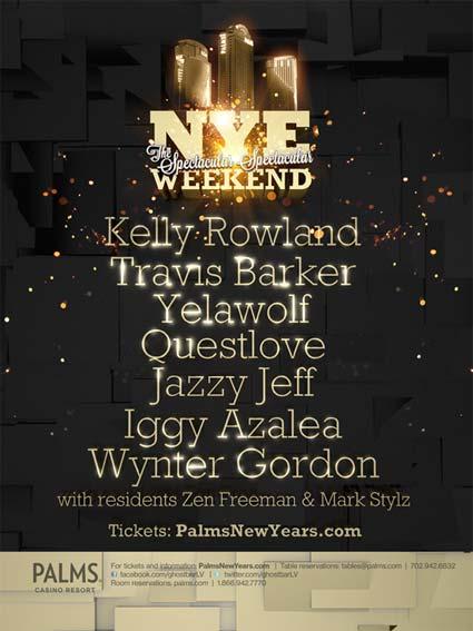 NYE 2013 Palms Weekend