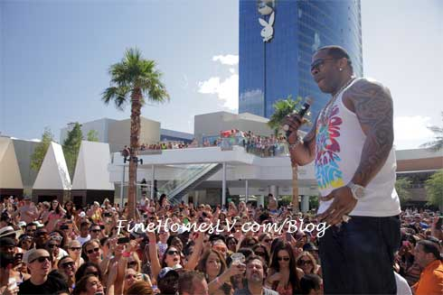 Busta Rhymes at Palms Pool