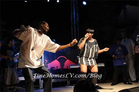 Snoop Dogg and Fantasia