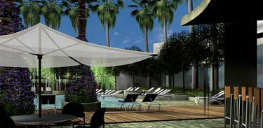 Palms Hotel Las Vegas Pool and Bungalows