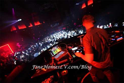 DJ Diplo Spinning at Rain Las Vegas