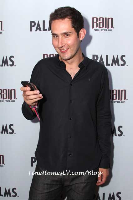 Kevin Systrom at Rain Nightclub