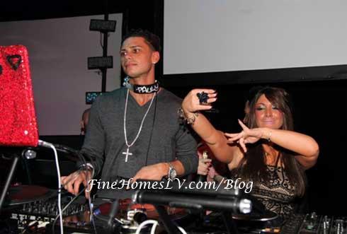 DJ Pauly D and Deena Nicole